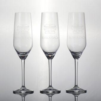 Champagne glasses Russian Dacha