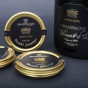 Caviar and Champagne Russian Dacha
