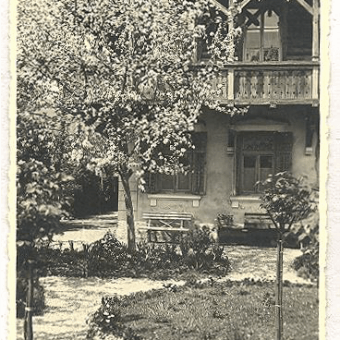 Russian Dacha in 1926, owned by Josip Knaflič.